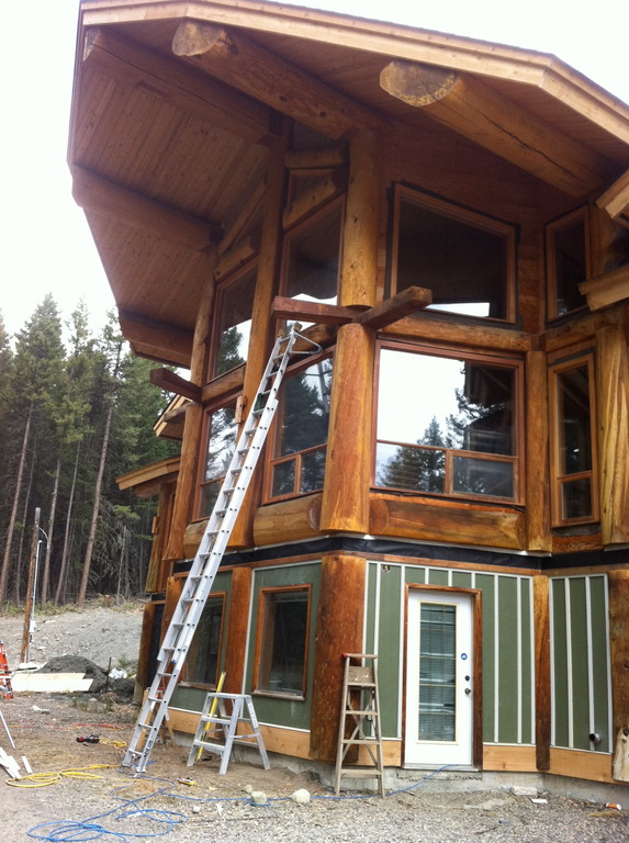 Log Cabin Post Construction Clean 5