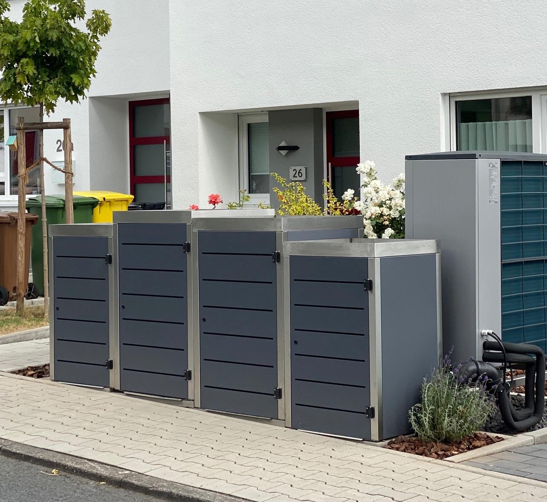 Warum nicht eine Mülltonnenbox online kaufen?