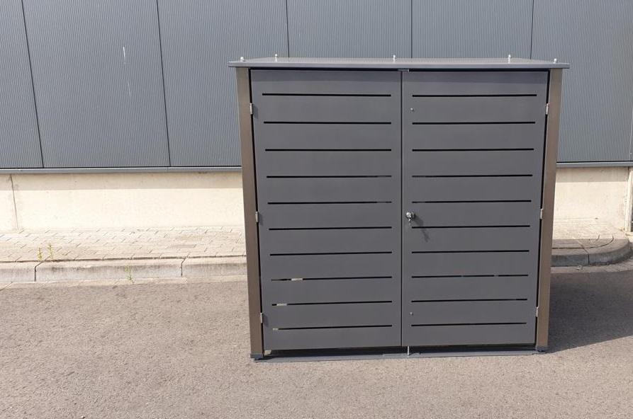 Mülleimerbox für 1100 Liter Container