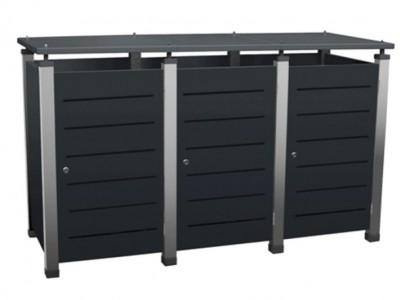 Mülltonnenbox Modell Pacco von Gero-Metall.de