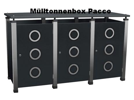 Welche Mülltonnenbox ist die Richtige?