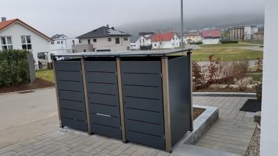 Mülltonnenboxen und Mülltonnenverkleidungen: Gartengestaltung für Ihr Eigenheim.