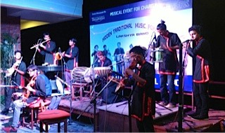 Concert du Nouvel An Nepalais avec Lakshya Band