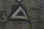 Wanderzeichen leeres Dreieck