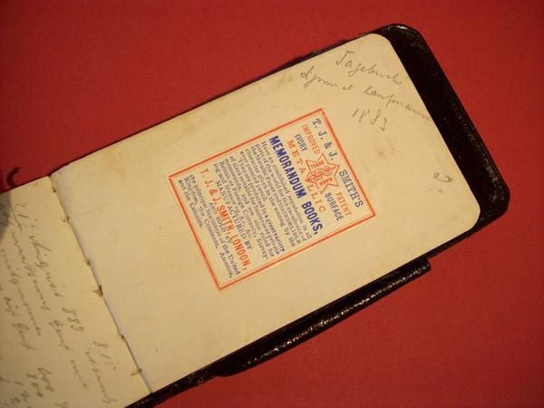 diario personal antiguo