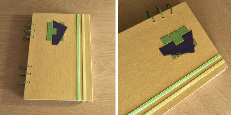cuaderno papel verge
