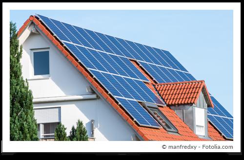 (Aufdach-) Photovoltaikanlage