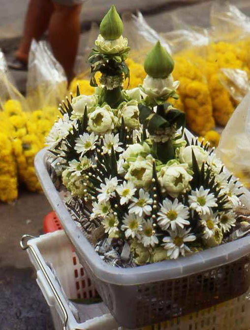 Blumenmarkt in Bangkok (Teves Flowermarket)
