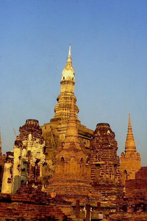 Tempelanlage in Ayutthaya