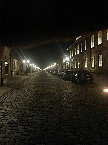 Blick in die Friedrichstraße - Einst Prachtstraße