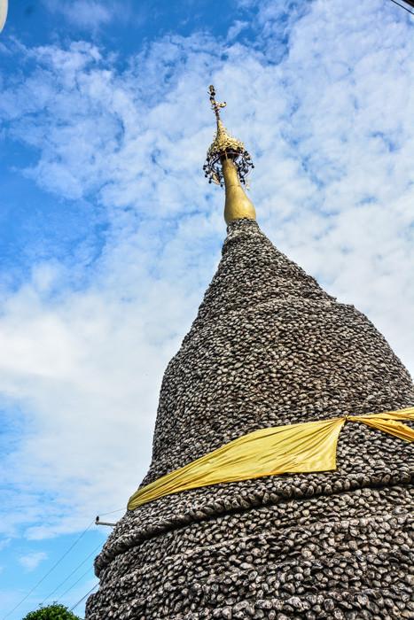Chedi des Wat Hoi (Muscheltempel)