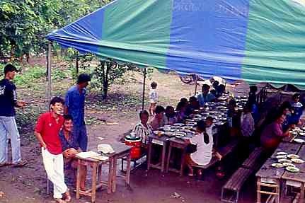 Einen Anlass zum Feiern finden die Thais immer.