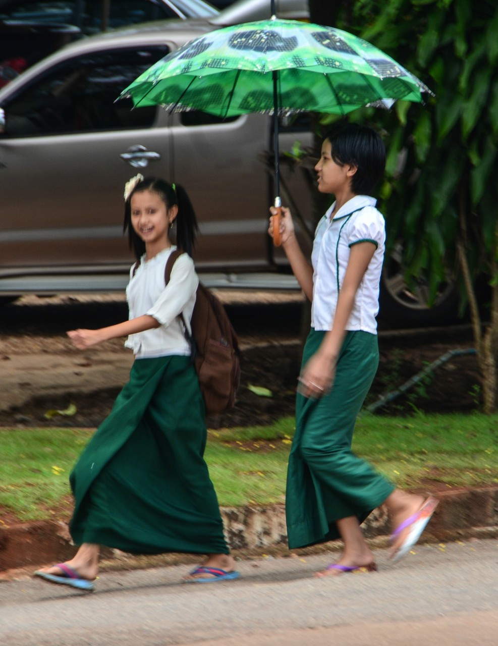 Momentaufnahme an der Grenze zu Myanmar (Burma)