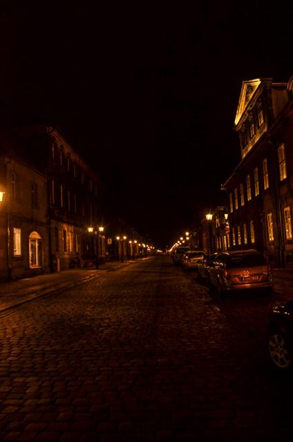 Streets of London? No, just Bayreuth. Fehlen nur noch Sherlock Holmes und die Pferdekutsche