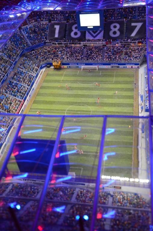 Miniaturwunderland Hamburg - AOL-Arena