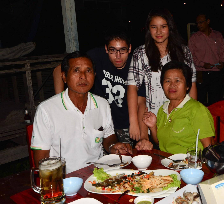 Unsere Verwandtschaft in Thailand