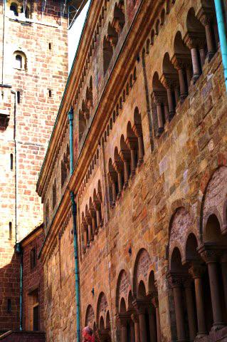 Die Mauern der Wartburg - Kulisse für die Wartburg Festspiele