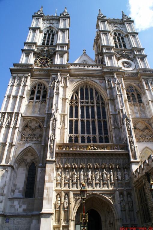 Westminster Abbey - Hauptportal