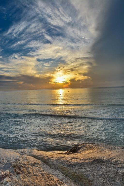 Morgenstimmung am Strand von Chaweng (Thailand)