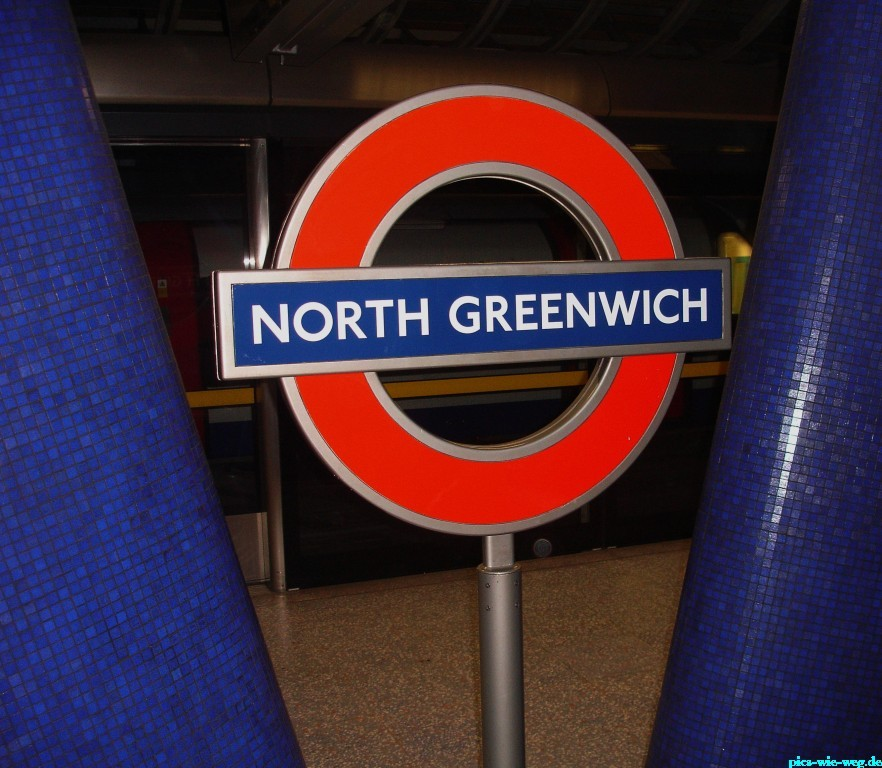Tube-Station in Greenwich