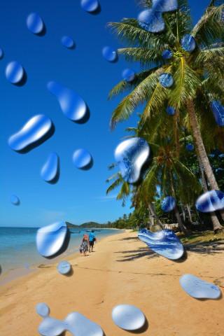 Strand von Bang Phor (Thailand)