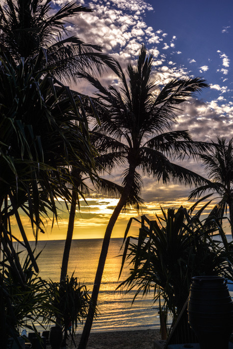Sonnenaufgang am Strand von Chaweng (Kho Samui/Thailand)