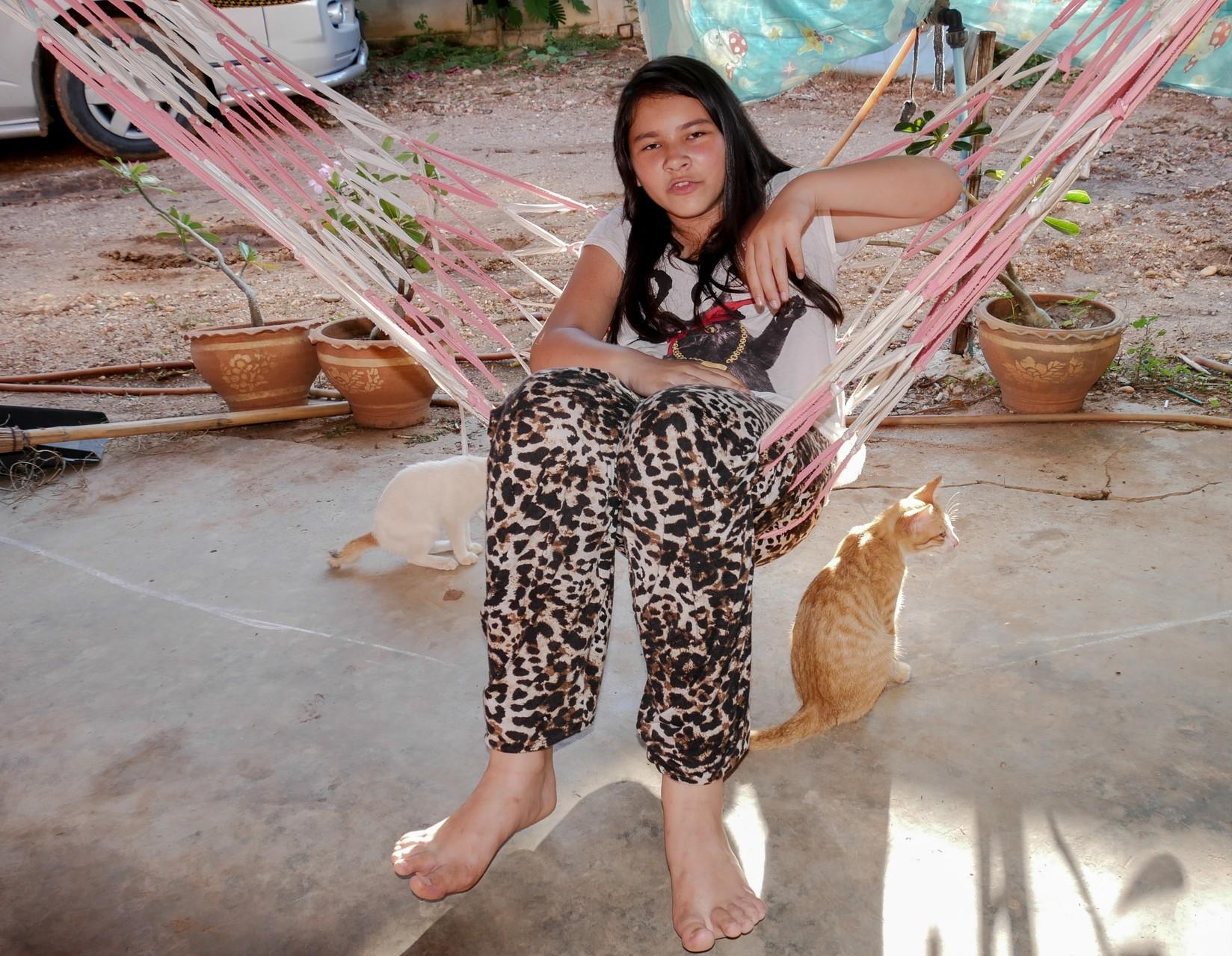 Entspannung mit Haustier