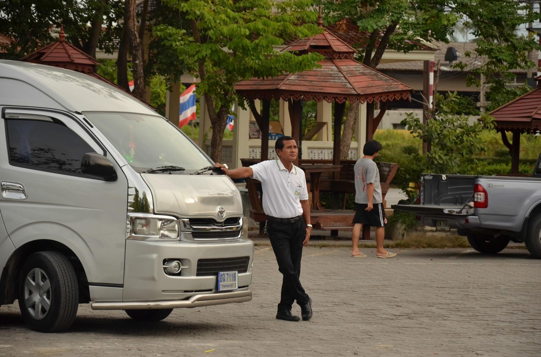 Unser Fahrer, Onkel und guter Freund Sompong