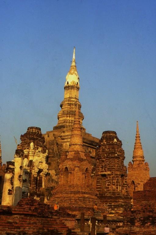 in der alten Hauptstadt Ayutthaya