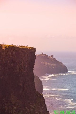 Bei den Cliffs of Moher