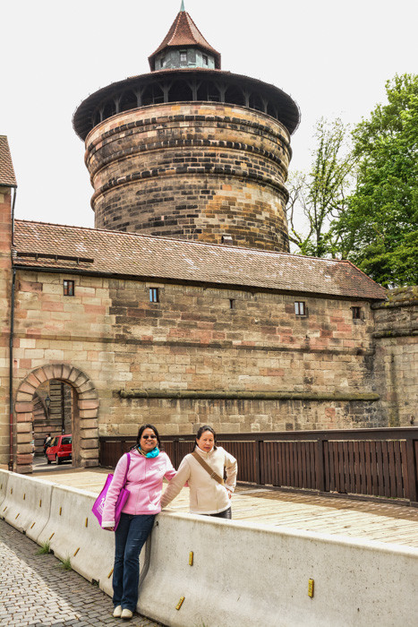 Nürnberg/Burg/Nuremberg Castle