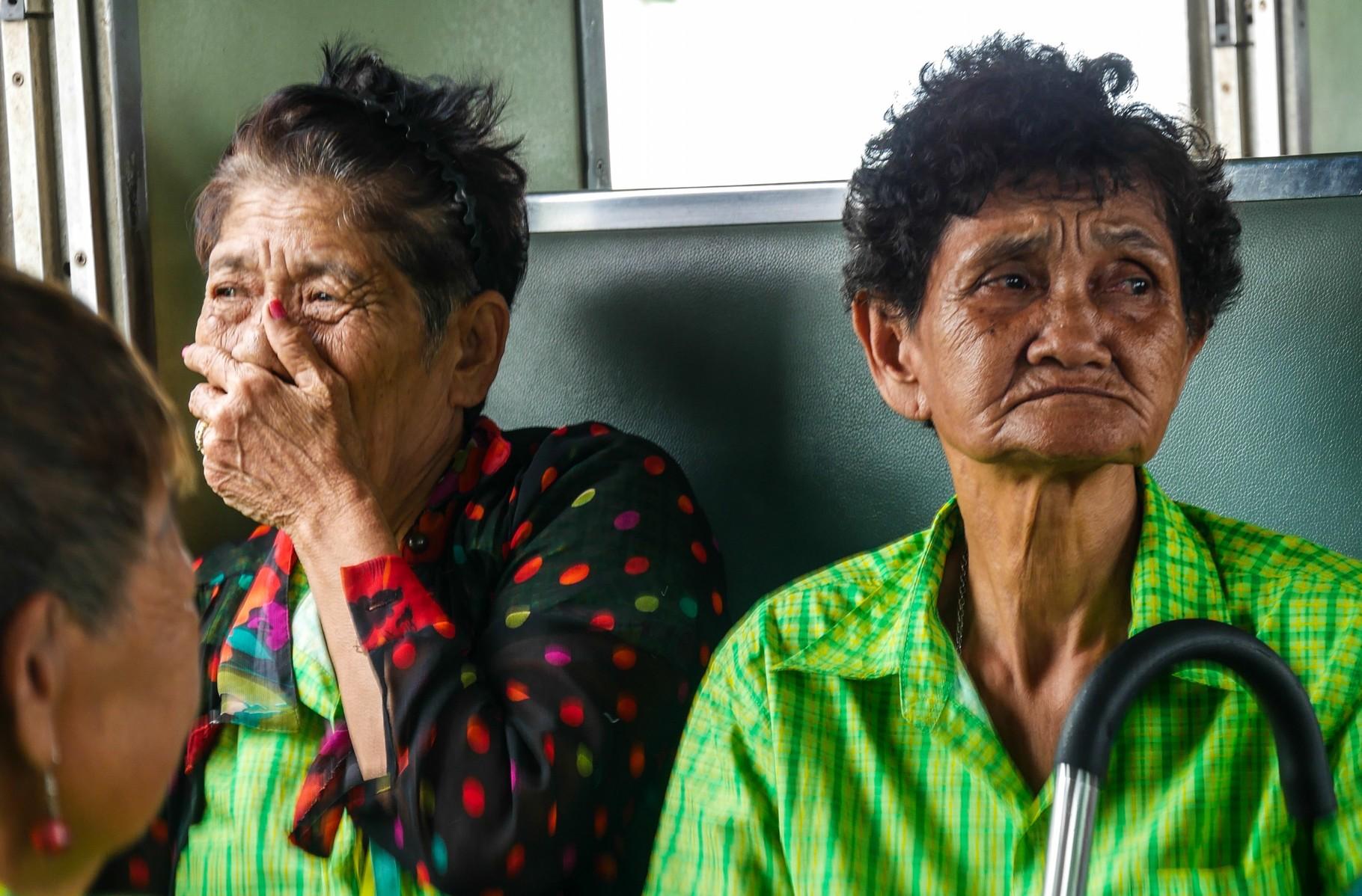 Momentaufnahme im Zug nach Nam Tok