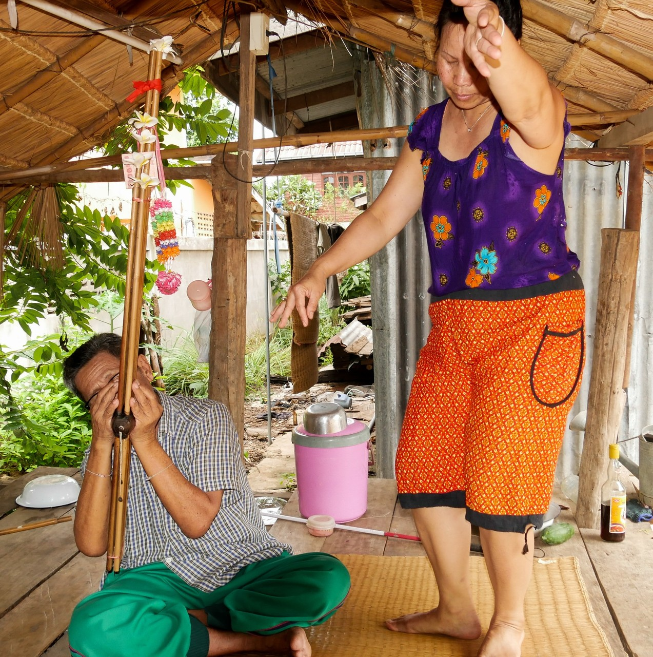 Lokaler Tanzsport in Nordostthailand