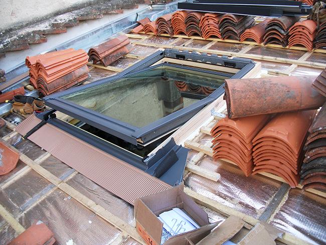 Isolation mince sur toiture