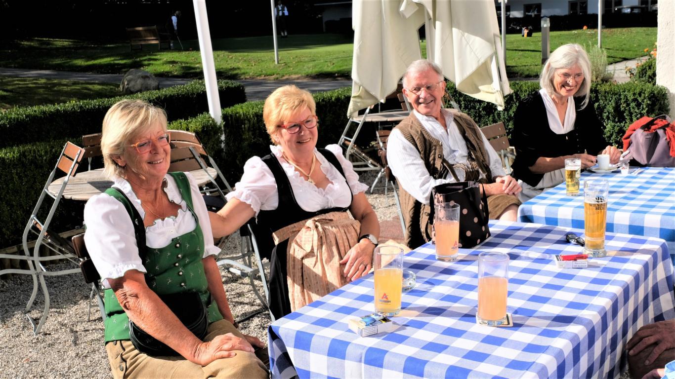 v.l.:Toni Spiller, Sylvi Huber, Georg und Hiltraud Summerer