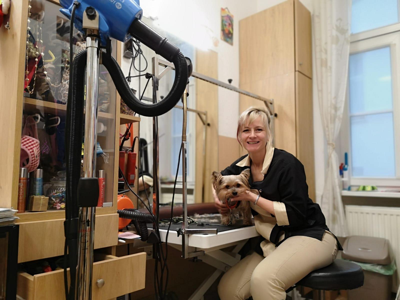 Frau Alexandra Hunde- u. Katzenstylistin
