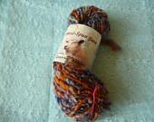 Textured chunky singkes yarn