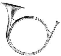 Horn von M. Leichamschneider - Wien 1718