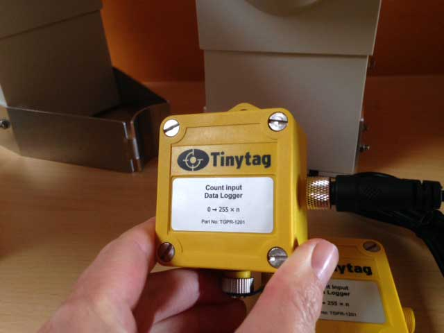 Tinytag enregistreur impulsion