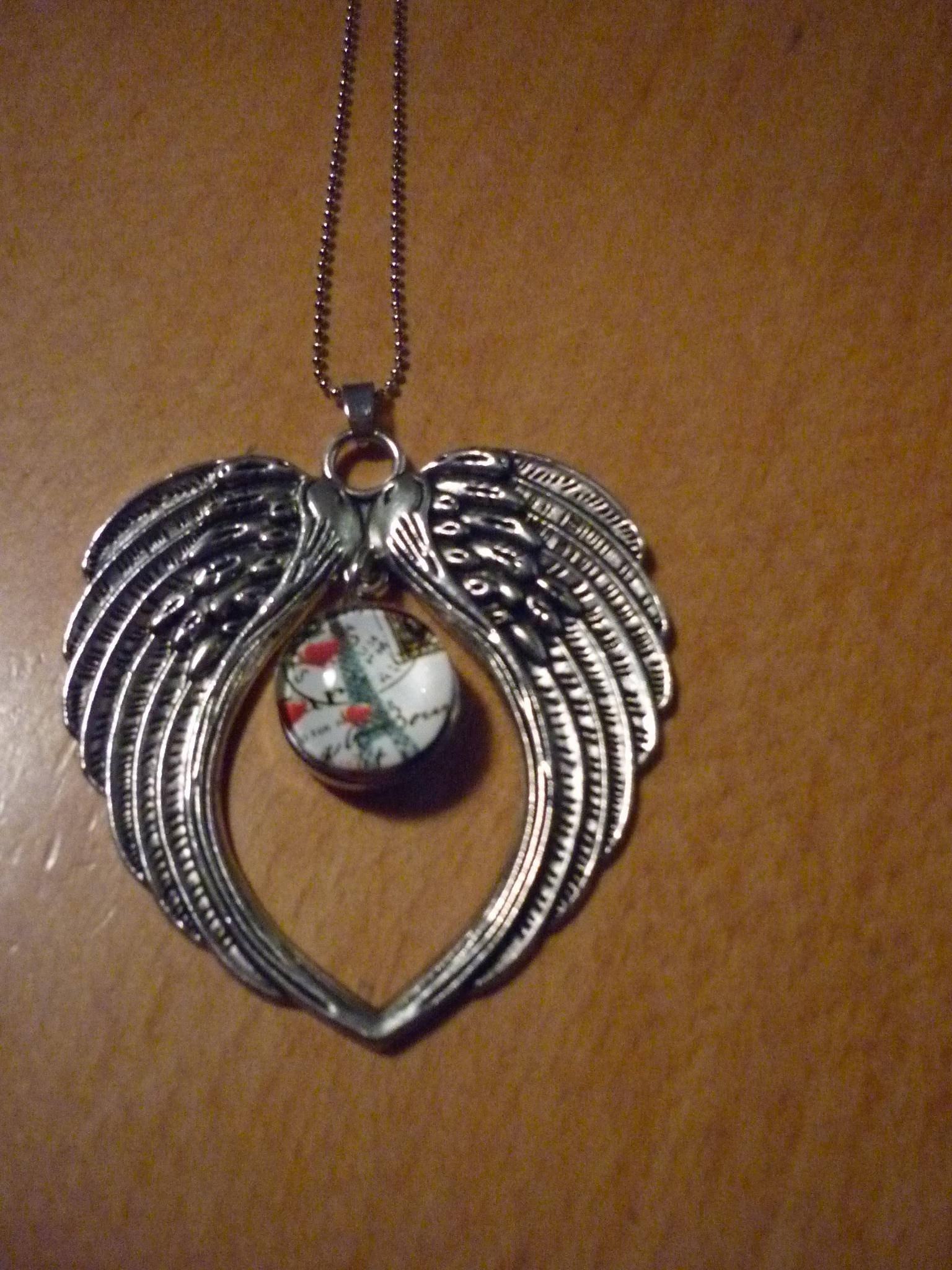 Engelsflügel - Halskette 28.-