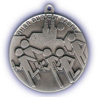 Medaille Quer durch Basel
