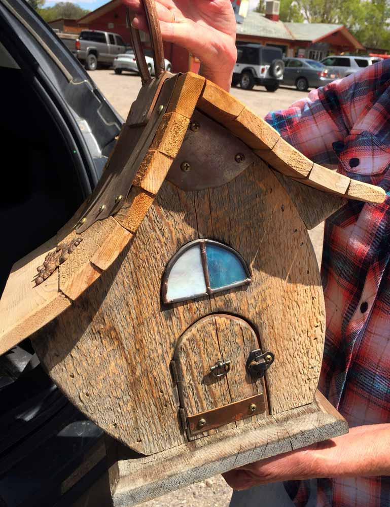 Fancy Bird House - Paul Daughters