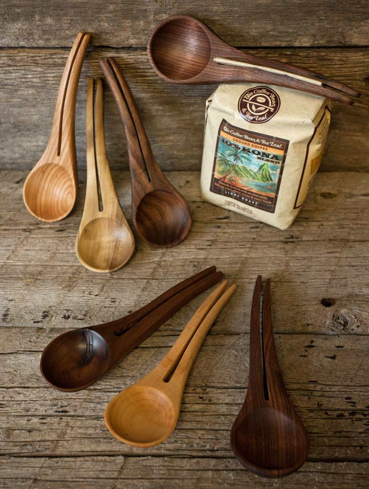 Wood Coffee Scoops - Troy Anderson