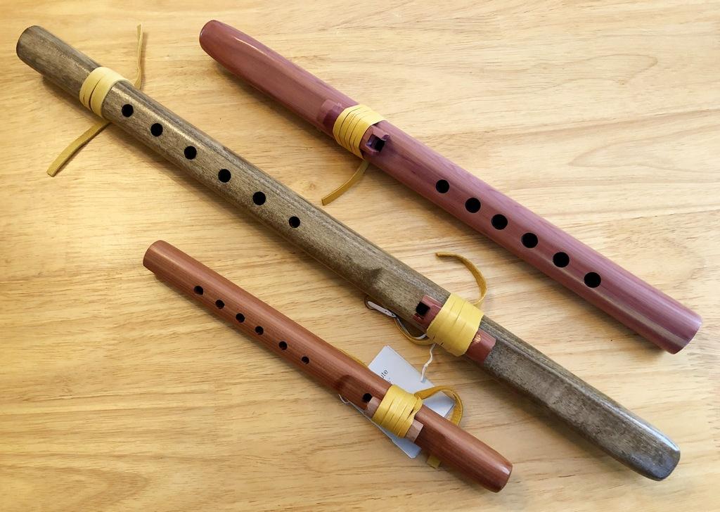 Wood Flutes - Vance Morrill