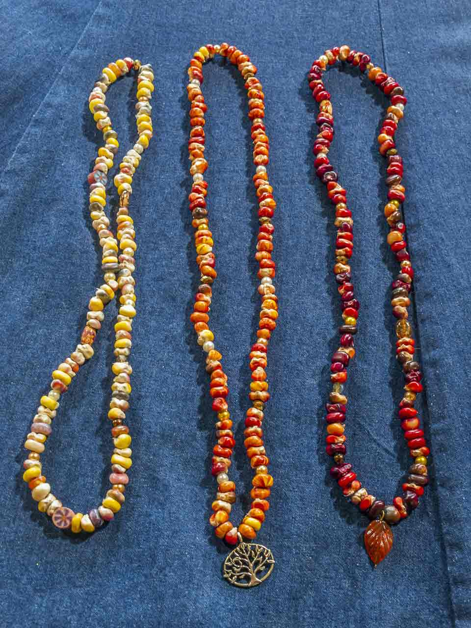 Indian Corn Necklaces - Mary B.