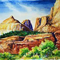 Watercolor Landscapes - Nena Flo Law