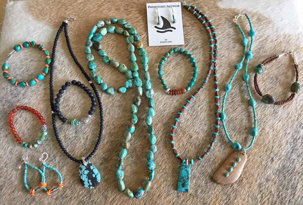Stone and Antler Jewelry - Donna Sall