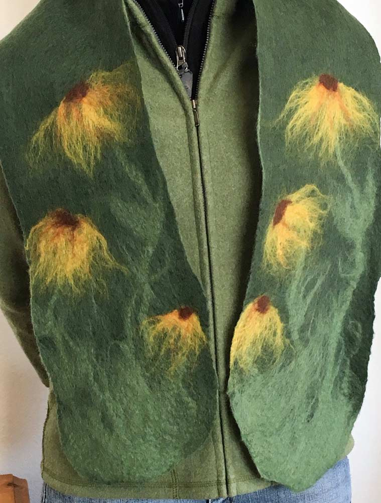 Felted Wool Scarves - Melody Perdikis