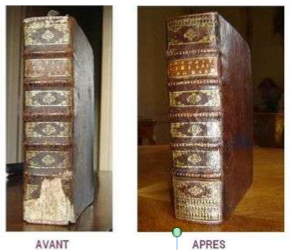 restauration livres anciens