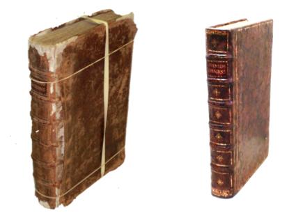 restaurateur de livres anciens